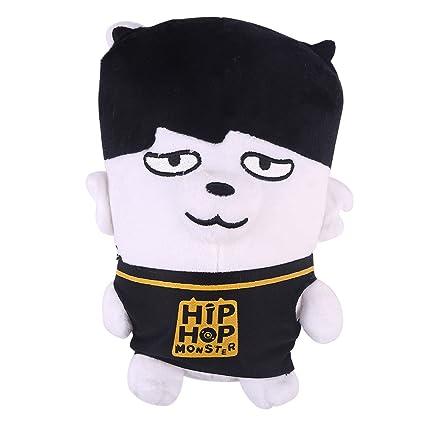 King Mia BTS bangtan Boys BTS Cojín BTS Pillow Cute dibujos animados de peluche muñeca decoración