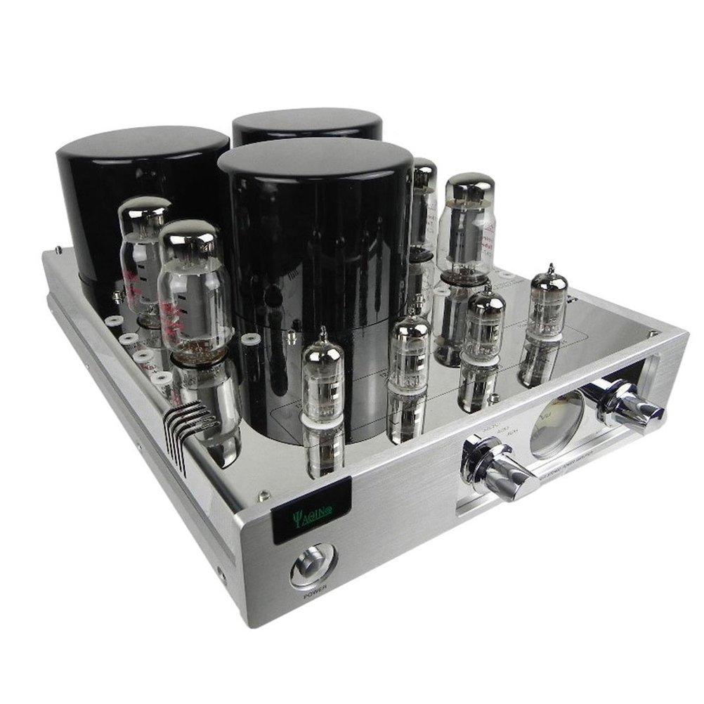 YAQIN MC-13S 真空管 プリメインアンプ EL34(6CA7)X4 (カバーなし) B01N53HB5A カバーなし