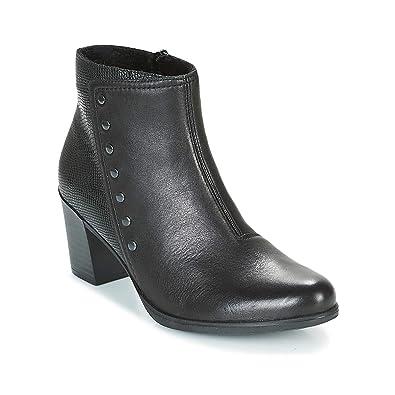 7cc5249feca Rieker Y8957-00 Ladies Leather Ankle Boots Black  Amazon.co.uk ...