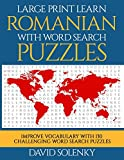Large Print Learn Romanian with Word Sea