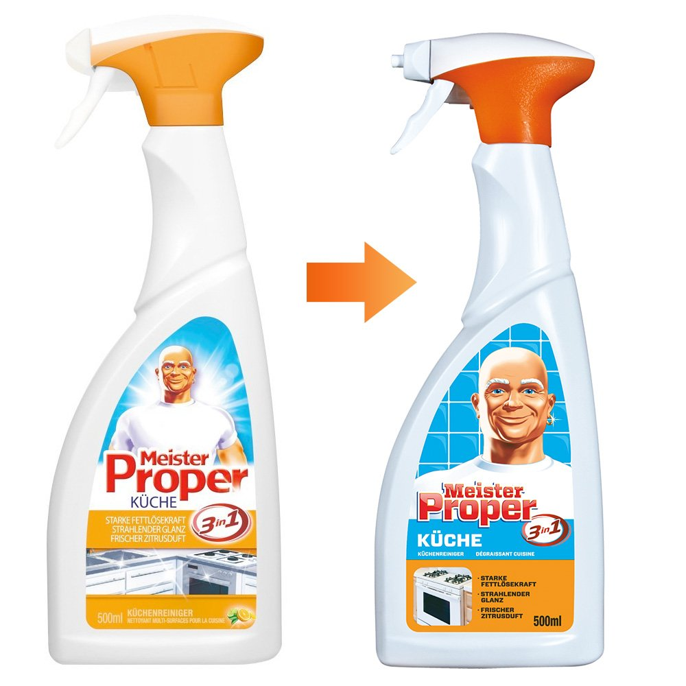 Meister Proper Küchen Spray 500 Ml, 1er Pack (1 X 500 Ml): Amazon.de:  Drogerie U0026 Körperpflege