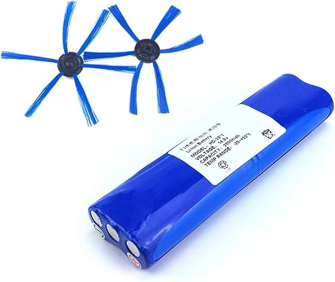 Kit de cepillo lateral de batería de iones de litio de 14.8V ...