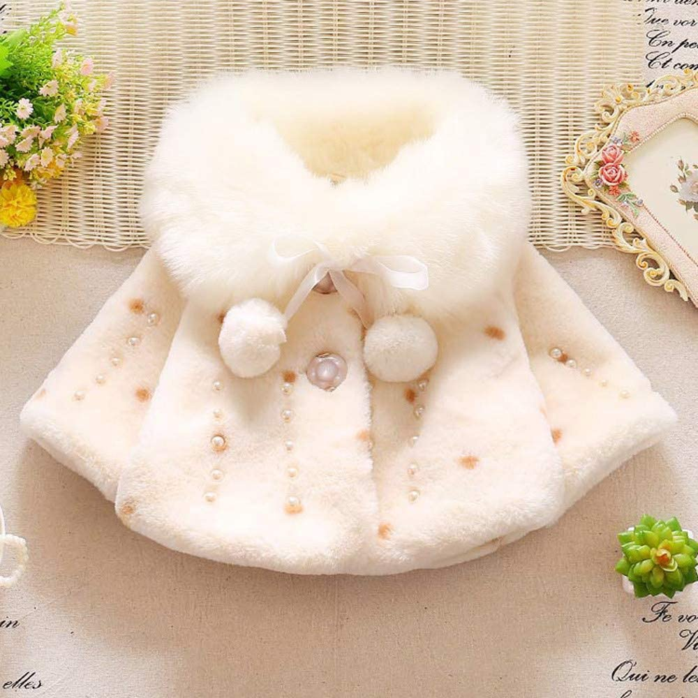 Sharemen Baby Infant Girls Autumn Winter Warm Cartoon Jacket Coat Children Clothes Tops