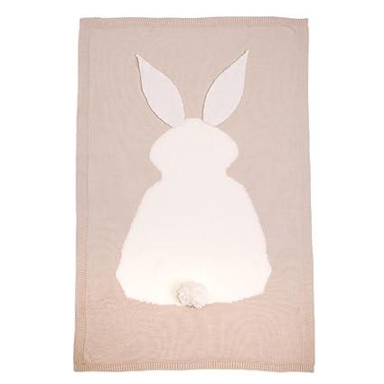 Bebé Kids Cute manta Swaddle Wrap, venmo Toddler Bebé Lovely conejo ...