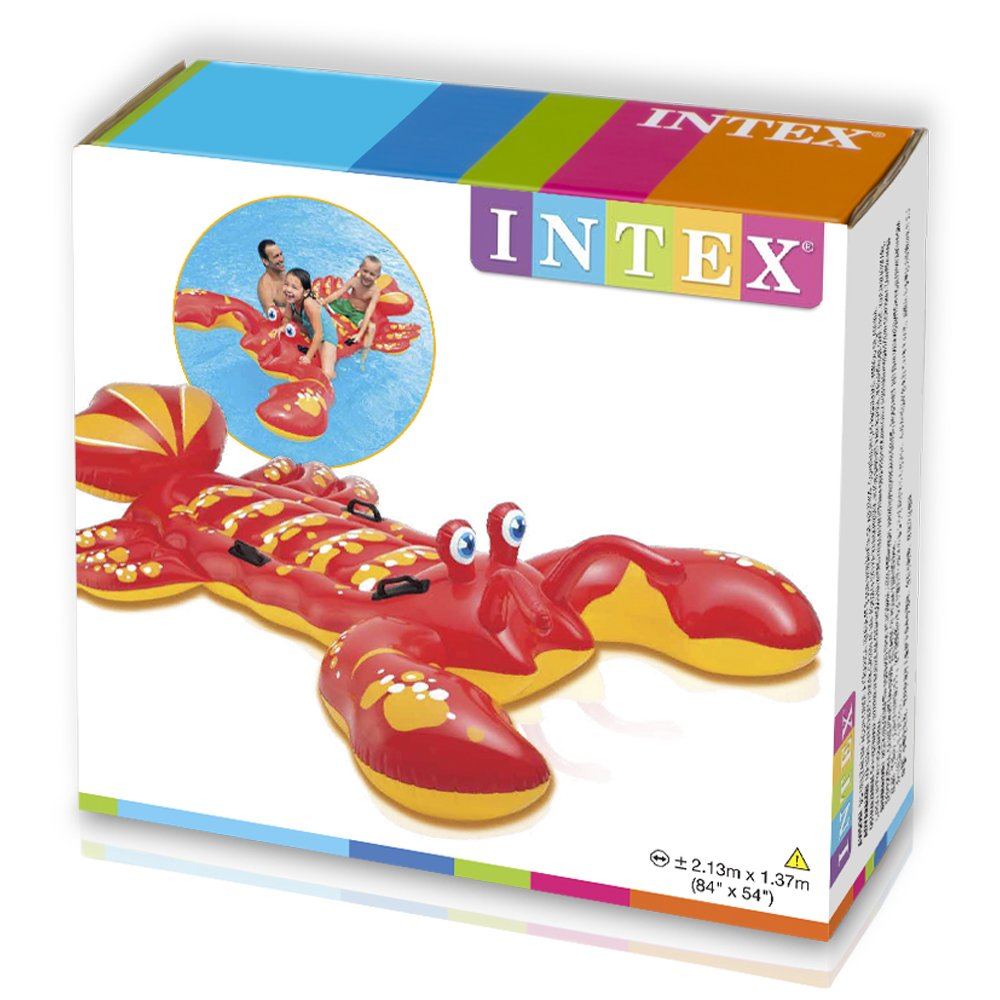 Intex - Langosta hinchable acuática 4 asas, 213 x 137 cm (57528 ...