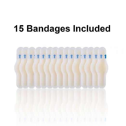 Amazon.com: povihome Toe Blister almohadillas para orejas ...