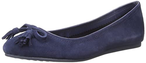 Lina suede flat slip on women shoes type