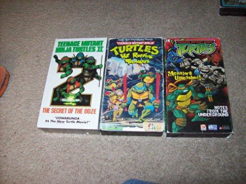 Teenage Mutant Ninja Turtles II - The Secret of the Ooze [VHS] (Ninja Movie New Turtles)