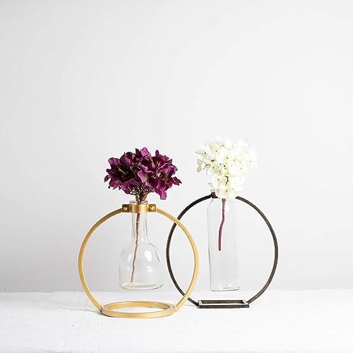 Capstone Brass Bud Vase