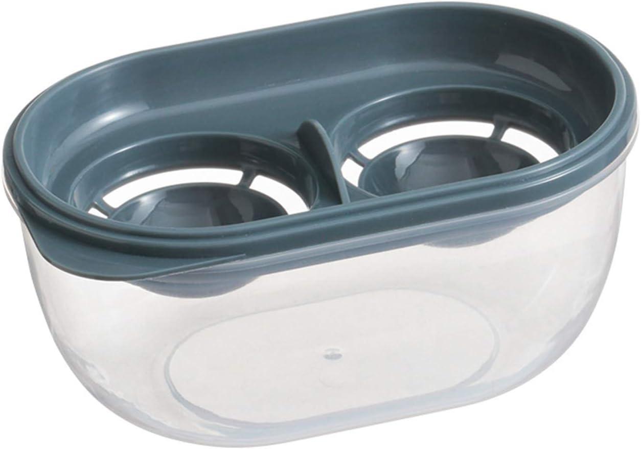 VSILE Kitchen Gadget Egg Separator Storage Box Plastic Food Grade Handmade Yolk Separators Extractor Cooking Baker Tool