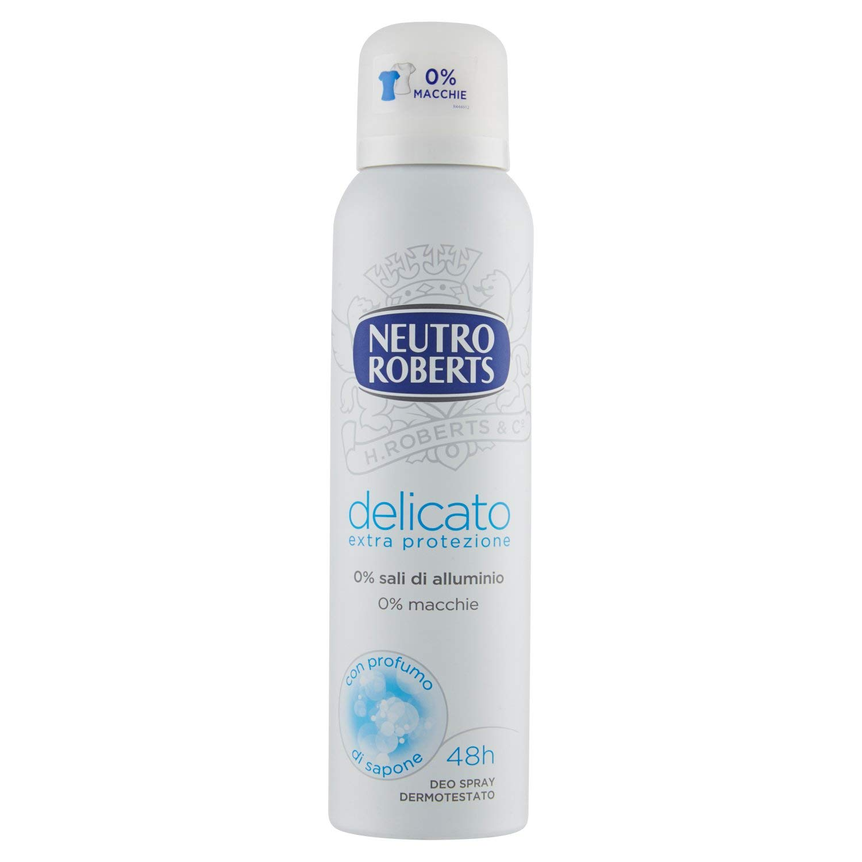 Neutro Roberts Deodorant Spray Delicate Extra Protection - 75 ml