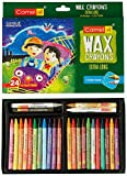 Camel Extra Long Wax Crayons - 24 Shades
