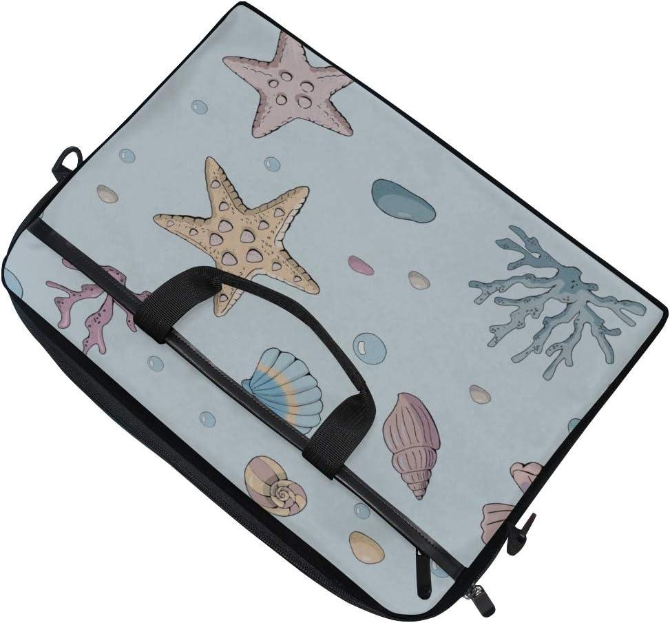 Laptop Bag Made Different Starfish 15-15.4 Inch Laptop Case Briefcase Messenger Shoulder Bag for Men Women College Students Business People Office