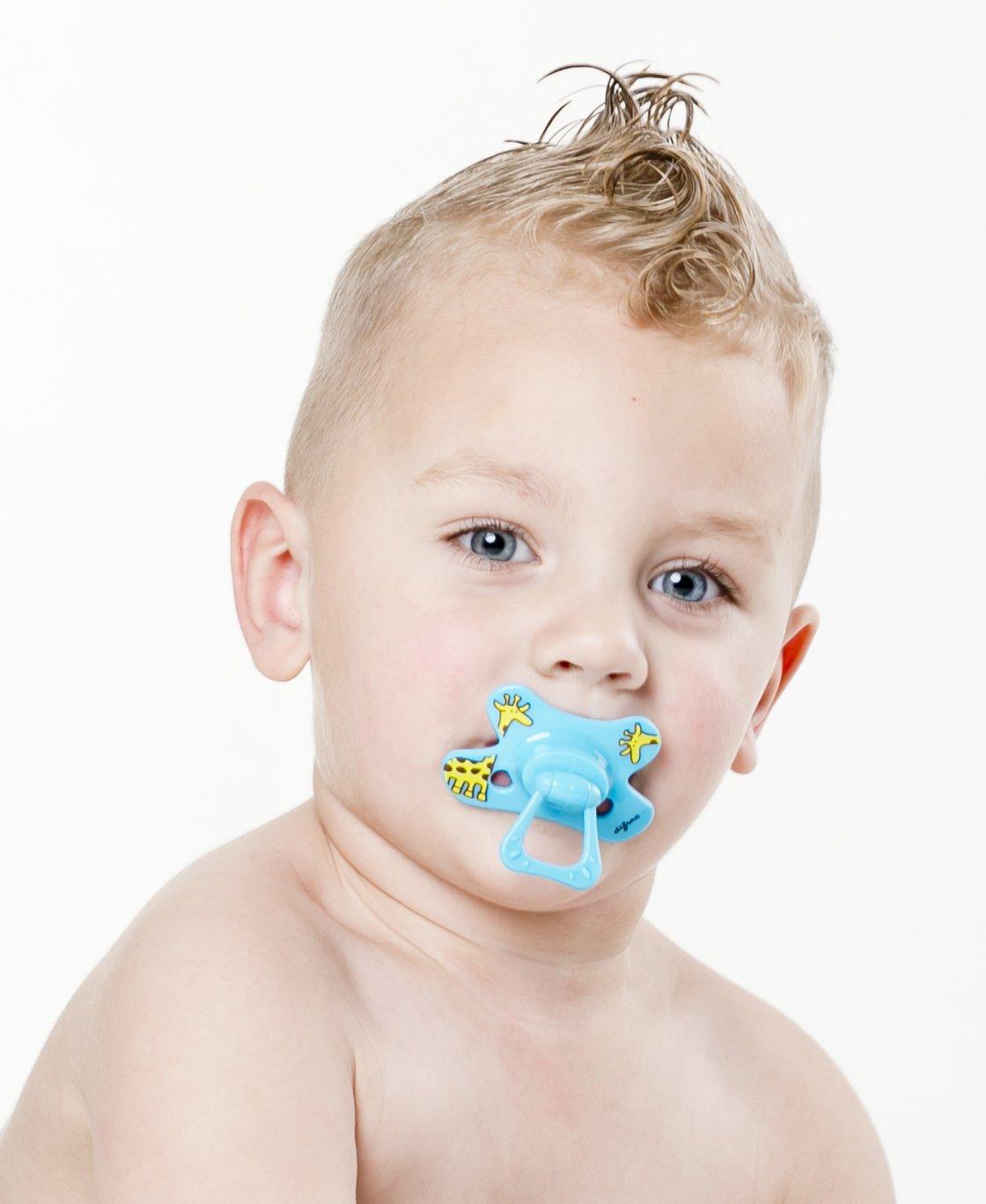 Amazon.com: Difrax Dental Chupete extra fuertes (18 meses ...