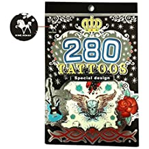 Tapp Collections™ 280 Temporary Tattoos - M1 Style