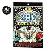 280 Temporary Tattoos Special Design for Men and Boys