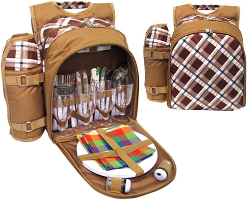 Bolsa de picnic 4 Persona de picnic Mochila Mochila Bolsa ...
