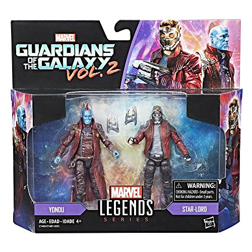 Marvel Legends Guardians of the Galaxy 3.75″ Star Lord & Yondu Action Figure 2 Pack