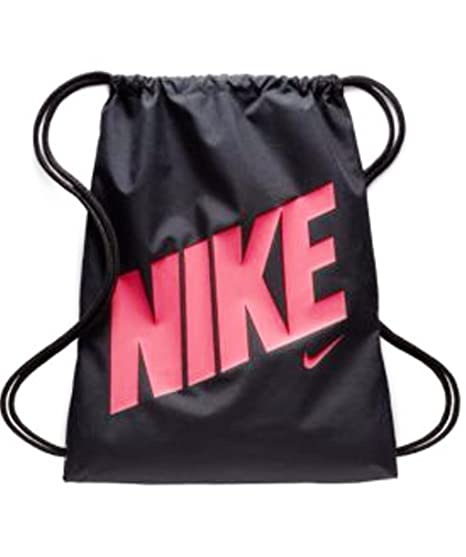 752ec0c8727f NIKE Equality Drawstring Gymsack Backpack Sport Bookbag (Industrial  Blue Tidal Blue Sea Green