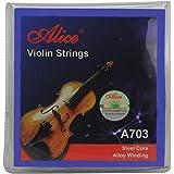 Alice Violin String Set E/a/d/g Violin Strings for Size 1/4 1/2 3/4 4/4 Set Ball