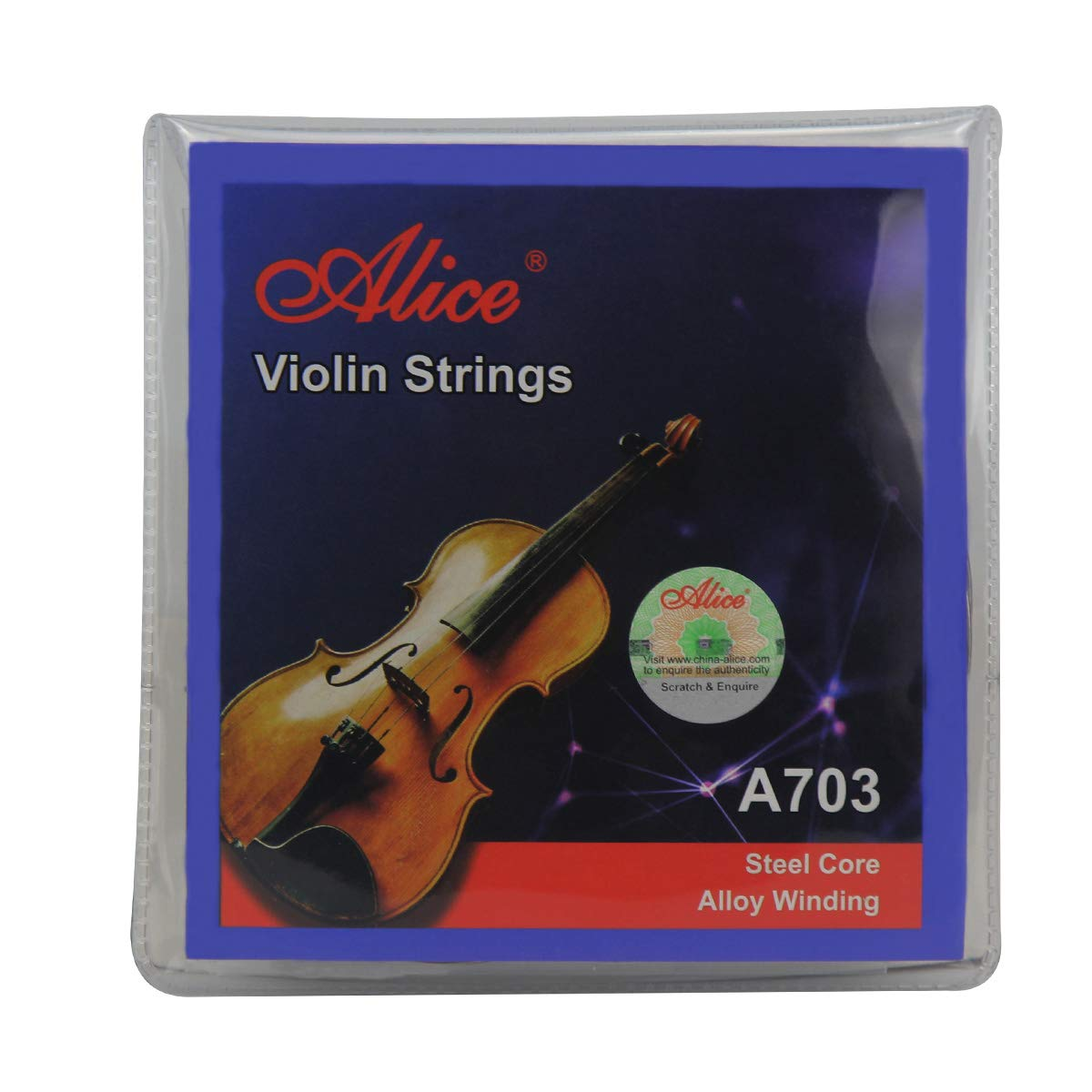 Alice Violin String Set E/a/d/g Violin Strings for Size 1/4 1/2 3/4 4/4 Set Ball product image