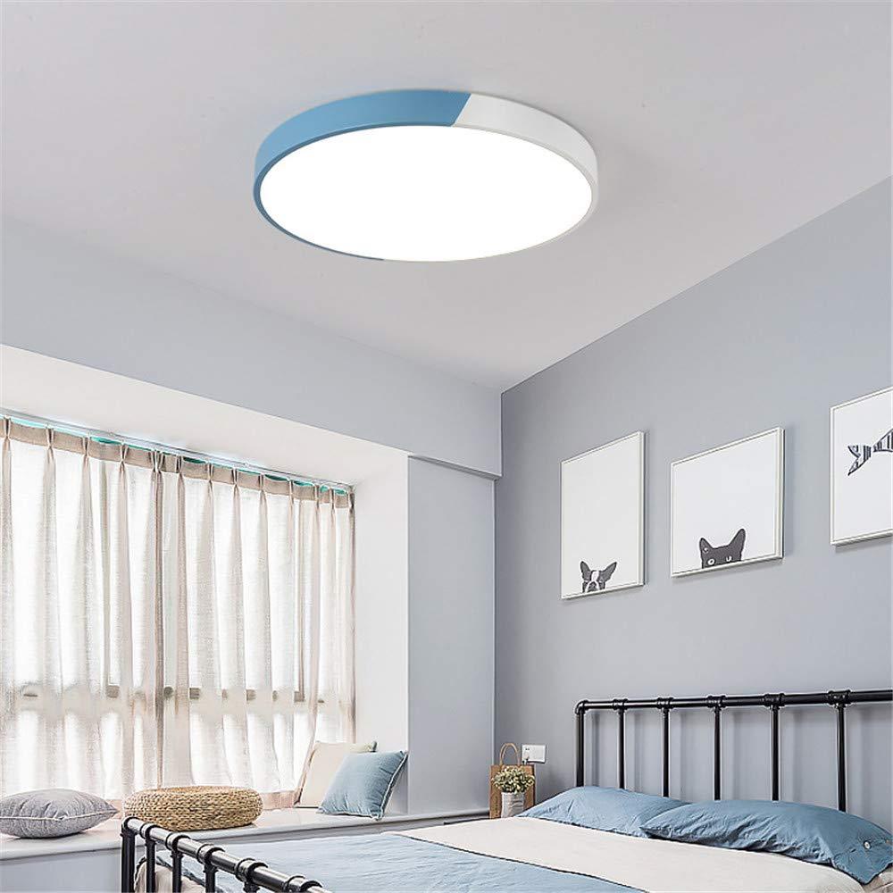 Zhouzhou666 Plafonnier Salon Chambre Lampe Bureau Salle à Manger Lampe Couloir Couloir LED Plafonnier, Lumière Bleue Neutre, 40Cm