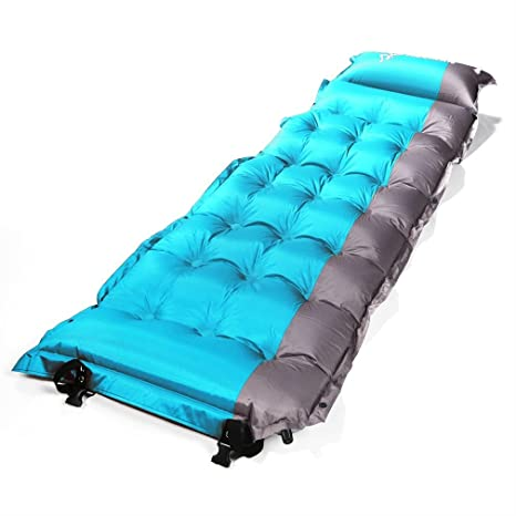 mattress air mats sin single na inflating inf blue buy m thick s sleeping mat remaining h camp self