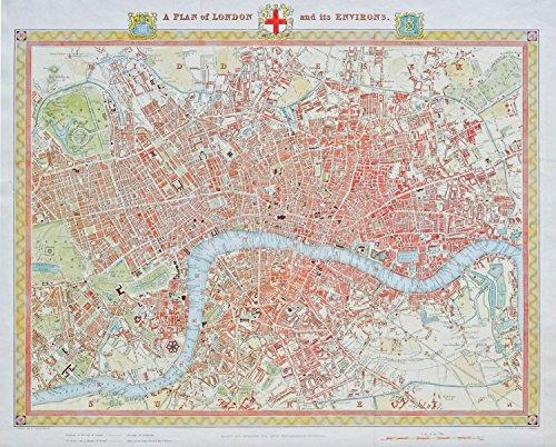 Piatnik- London Map 1831 1000 Jigsaw Puzzle by Piatnik 1831 Map