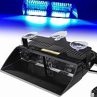 12V Azul 16 LED Alto Brillo Aplicación
