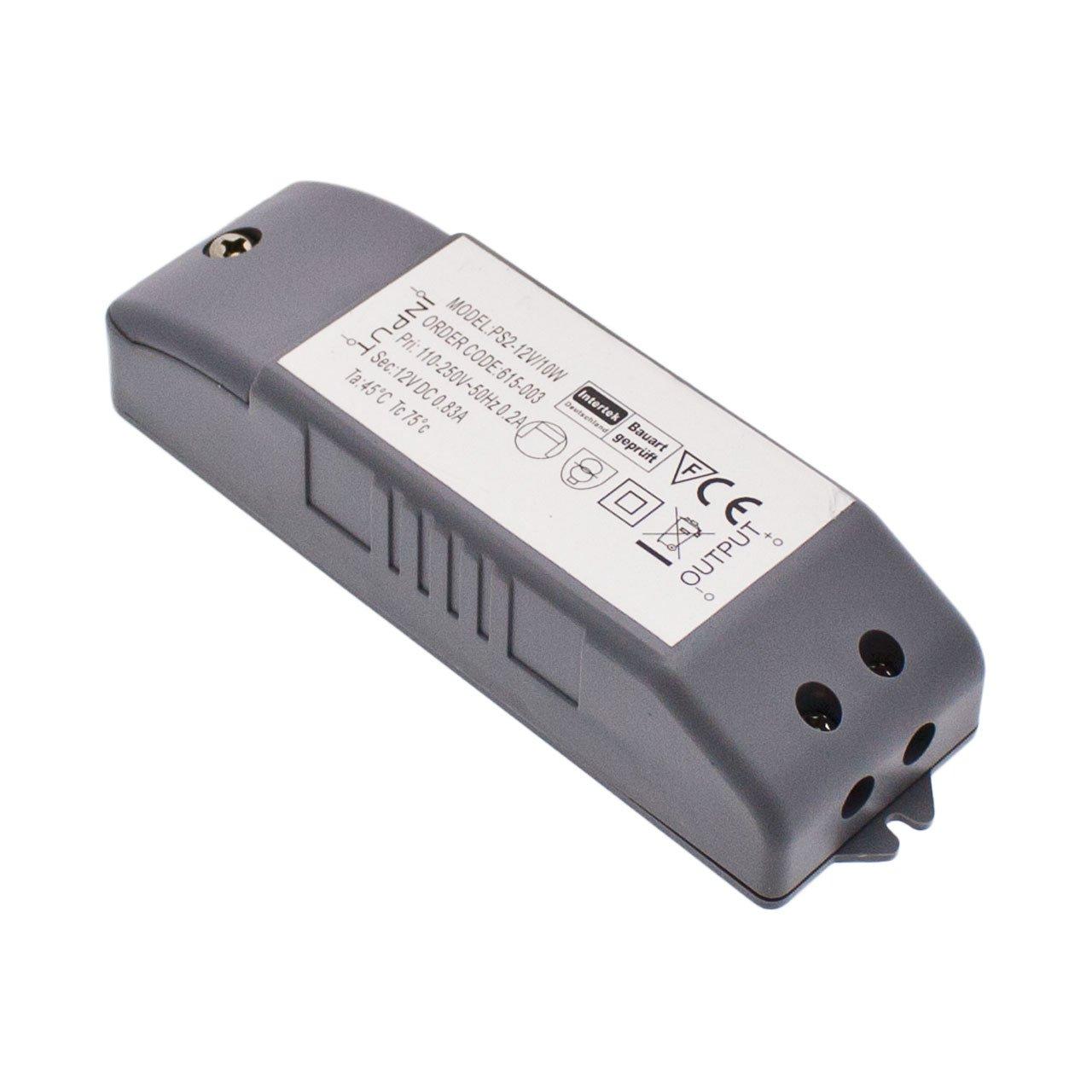 LuminalPark Alimentatore tensione costante, 10 Watt, 12V Lottiimportex