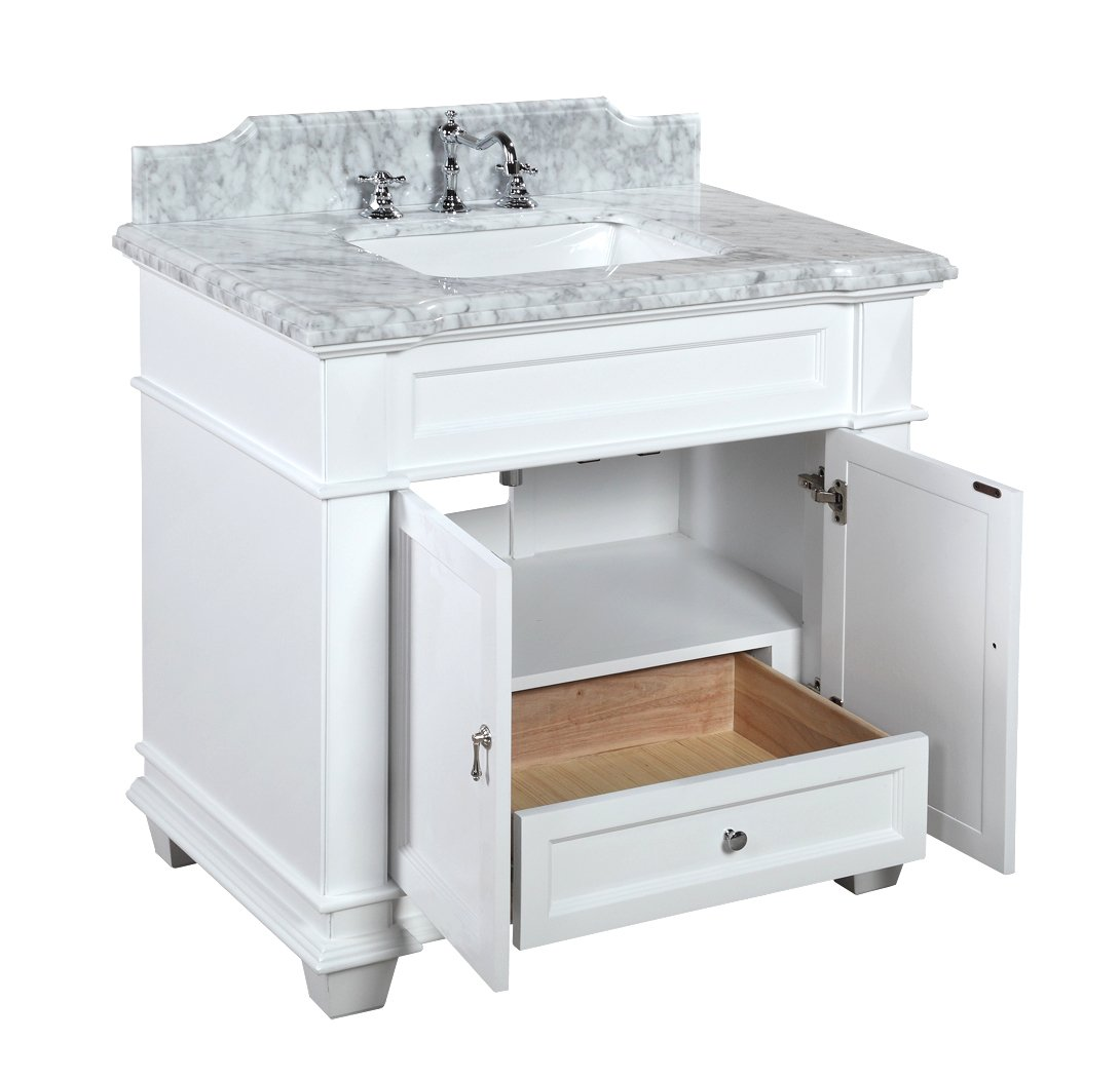 vanity foremost virtu js hawthorne bathroom drawers inch sink drawer cabinet bath bailey single with vanities gw