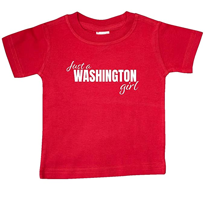 inktastic Just a Washington Girl Born and Raised Toddler T-Shirt