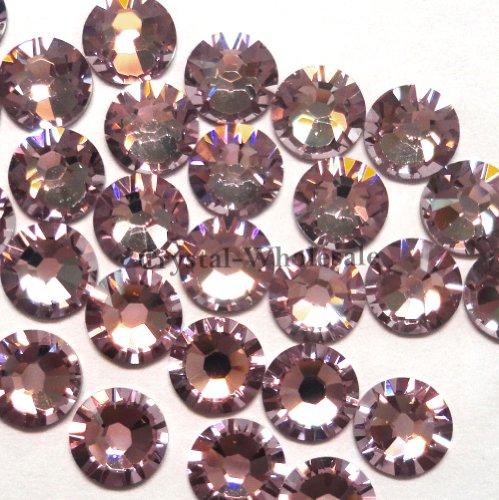 Amethyst Wholesale Swarovski Rhinestones (18 pcs Swarovski 2058 XILION / New 2088 XIRIUS 34ss 7.27mm flatback rhinestones ss34 LIGHT AMETHYST F **FREE Shipping from Mychobos)