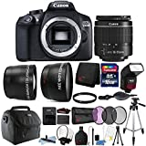 Canon EOS 1300D / T6 18MP Digital SLR Camera with 18-55mm Lens and 16GB Accessory Bundle Review