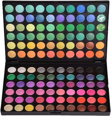 Paleta de Sombras de Ojos 120 Colores de Maquillaje Cosmético #4: Amazon.es: Belleza