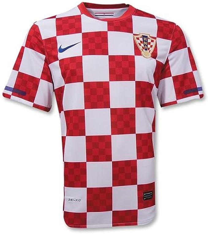 Nike Camiseta de fútbol de la Marca Croata 2010, Color Rojo y ...