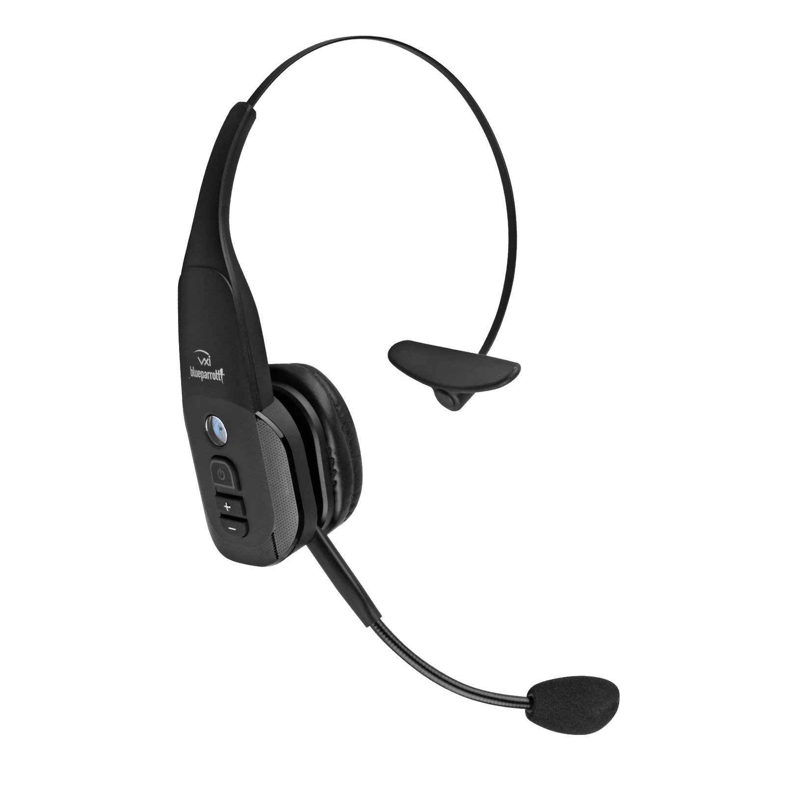 noise cancelling headset bluetooth wireless trucker blue. Black Bedroom Furniture Sets. Home Design Ideas