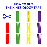 Kinesiology Tape Strapping Taping Athletic Sports