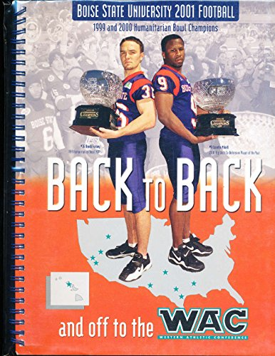 2001 Boise State University Football Media Guide by P&R publications