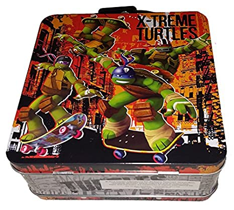 Amazon.com: Las tortugas Ninja x-treme Mini lata portatutto ...
