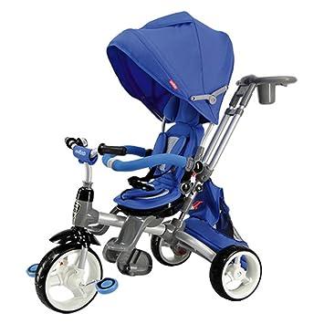 2f8b541909c Amazon.com : Evezo Samzio 4-in-1 Stroller and Trike (Blue) : Baby