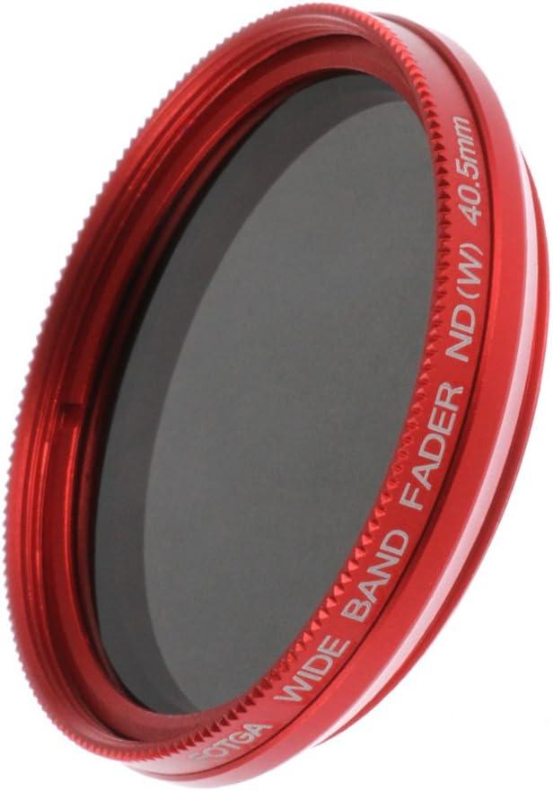Fotga 46mm ND2 to ND400 Slim Fader Variable Adjustable Camera Lens ND Filter Neutral Density Optial Glass