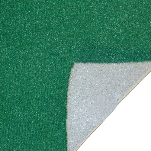 10 Ft. Long x 58'' Wide Casino Felt with Foam - For Making Casino Gaming Tables! by Poker Supplies