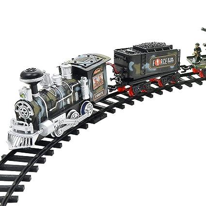 Vía Tren Eléctrico Juguete Control Remoto Humo xBthQdCosr