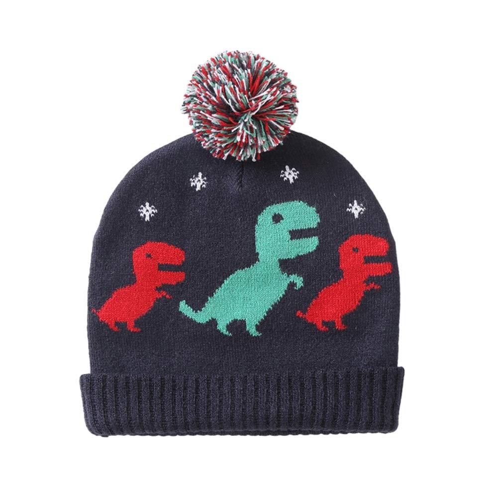 Urmagic Baby Knitted Beanie Hat Toddler Infant Kids Boys Girls Dinosaur Crochet Cap Unisex Choice for 0-4 Year Old