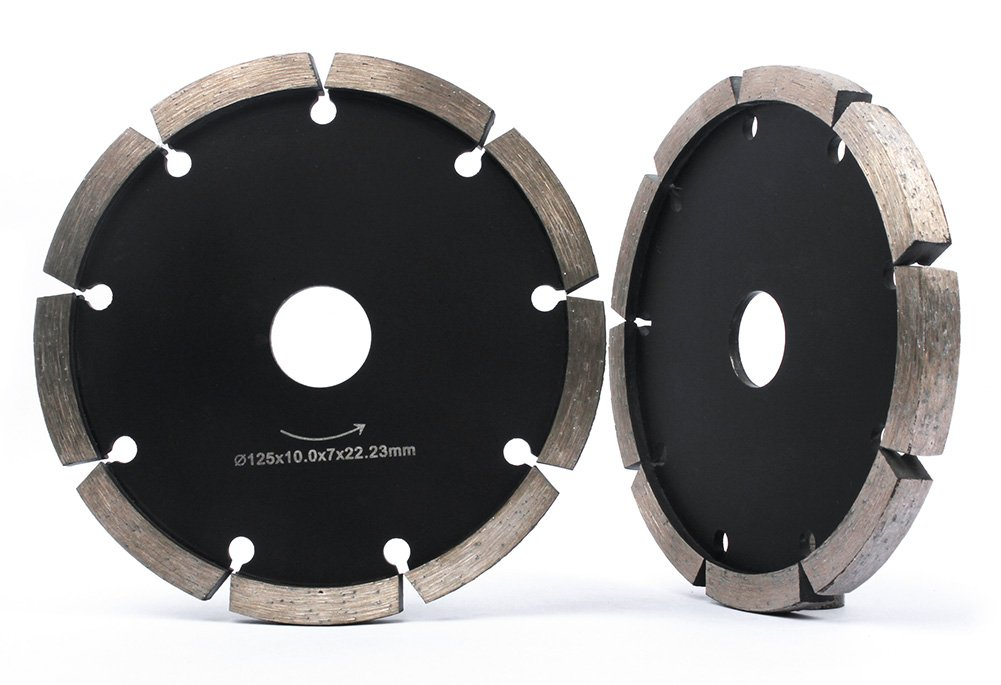 Z-Lion Tuck Point Diamond Blade 5 inch for Concrete Stone 0.4 Thickness Segment Diamond Grinding Blade