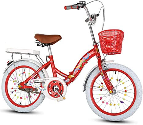 SYCHONG Plegables Bicicletas Plegables Estudiante De Bicicleta ...