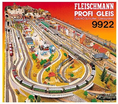 61P8V0F70NL fleischmann 9922 profi track plans amazon co uk toys & games fleischmann turntable wiring diagram at readyjetset.co