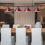 Wellmet Kitchen Island Lighting, 4 Light Ceiling