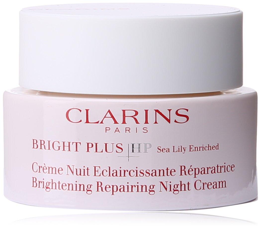 Clarins Bright Plus HP Brightening Repairing Night Cream for Unisex, 1.7 Ounce U-SC-1641